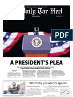 The Daily Tar Heel for April 24, 2012