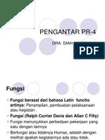 Modul 4, Fungsi & Peranan PR