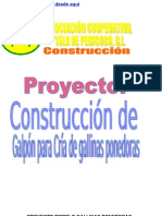 PROYECTO CONSTRUCCIÓN DE GALPÓN PARA GALLINAS PONEDORAS