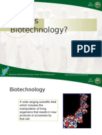 What is Biotechnology 3548