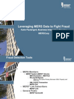 Leveraging Mers data to fight fraud?