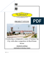 Anil Real Estate Project on Sushant Taj City, Agra