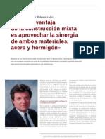 Entrevista_Roberto_Leon Construccion Mixta Ingenieria Estructural