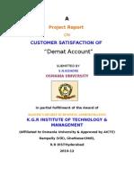Project Report of Share Khan Nanda Krishna 1111