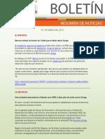 Resumen de Noticias Ambient Ales 20.04.2012 - RED MUQUI