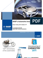 BASF-Automotive Innovation Pipeline
