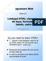 CURS HTML
