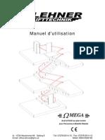 Omega - Manuel Et Notice d'Utilisation