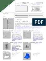 Order Form Poollift - Vers1de