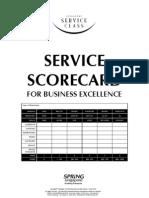 Service Scorecard