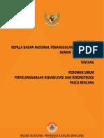 Perka BNPB Nomor 17 Tahun 2010 tentang Pedoman Umum Penyelenggaraan Rehabiltasi Dan Rekonstruksi Paska Bencana