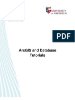 ArcGIS and Database - Tutorial Links
