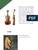 Alat-Alat Musik Melodi