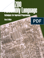 8080 z80 Assembly Language Techniques for Improved Programming