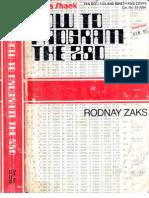 Programming the z80 Rodnay Zacks (3rd Edition)