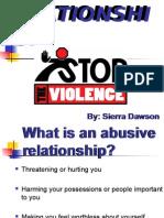 Violent Relationships