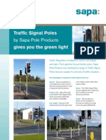 Traffic Signal Pole Leaflet