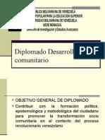 Diplomado en Desarrollo Comunitario