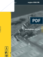 Aprilia V990 Engine Workshop Manual USA