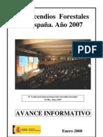 Avance 2007 (enero 2008)