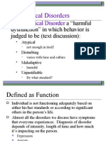 Intro Psychological Disorders