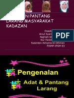 33989312 Adat Dan Pantang Larang Masyarakat Kadazan Newppt