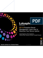 BP118-Proactive Server Management, Learn How to Maximize Your Server Uptime