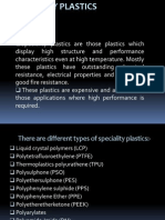 Specialty Plastics-liquid Crystal Polymers