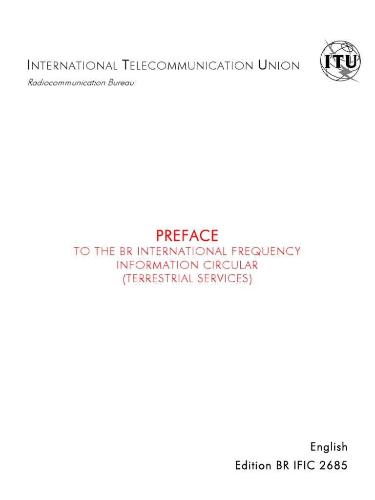 Preface_en br ific telecommunications engineering broadcast engineering