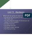 Unit 7. the Hardware