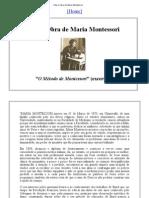 Vida e Obra de Maria Montessori