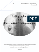 Radiographie de l interactivite radiophonique Bs