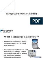Introduction to Inkjet Printers