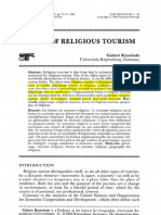 Forms of Religious Tourism