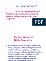 Bio information –An Overview