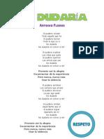 """Canciones EUROVISIÓN """"Paso Libre"""""""