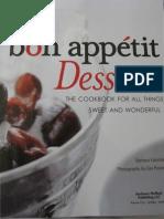 Bon Appetit Desserts