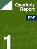 Friedberg Quarterly Report 1Q 2012
