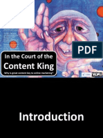 In the Court of the Content King 1 - Vimi Learning Center