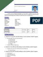 Aadil Naeem CV