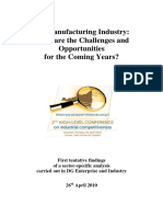 EU Manufacturing Industry