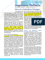 Lab Manager Duty