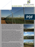 Fensecure Case Study - Chainlink Security Fencing, Jersey Airport