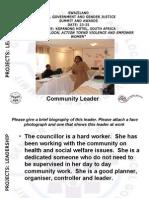 Makhosana Shongwe, Swaziland, Leadership - Summit 2012