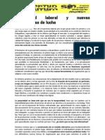 JSF Precariedad Laboral y Nuevas Herramientas de Lucha