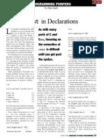 1998-06 Placing Const in Declarations