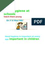 Hand Hygiene at Schools