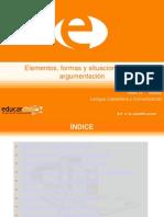 Elementos, formas y situaciones de la argumentación