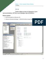Simulação de códigos no MPLAB - V3
