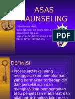 Asas Kaunseling